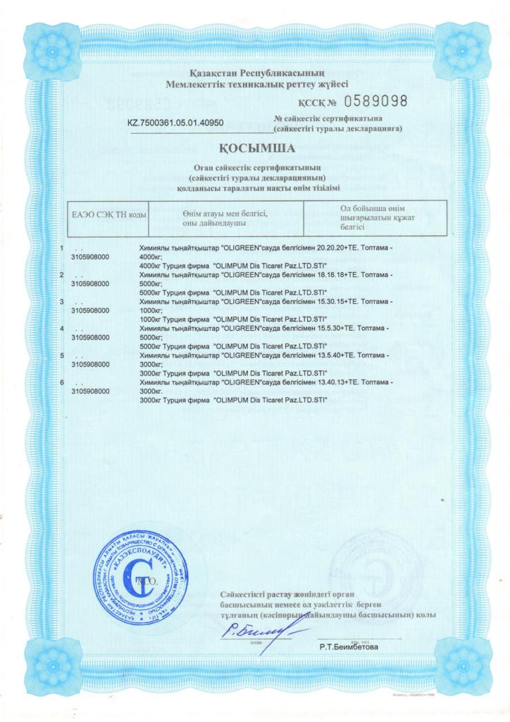 Гарантии и наши сертификаты